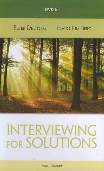 Interviewing for Solutions (DVD video)