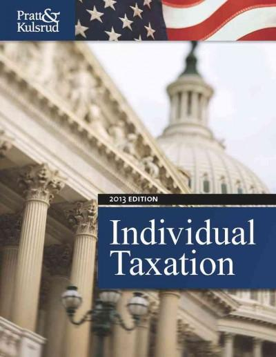 Individual Taxation 2013
