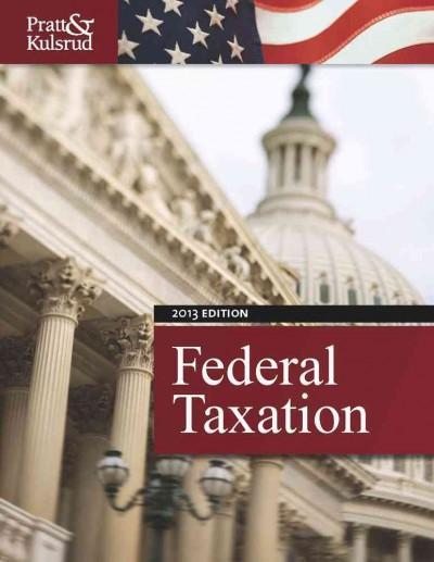Federal Taxation 2013