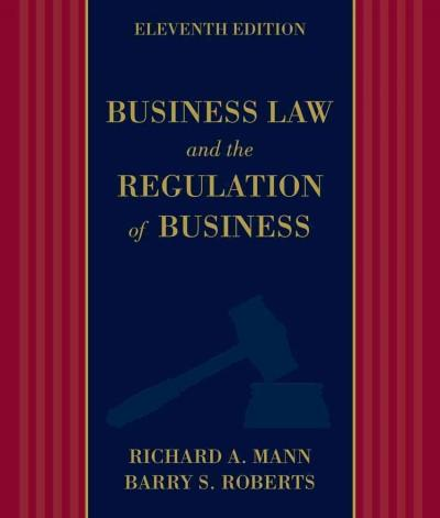 Business Law and the Regulation of Business (Hardcover)