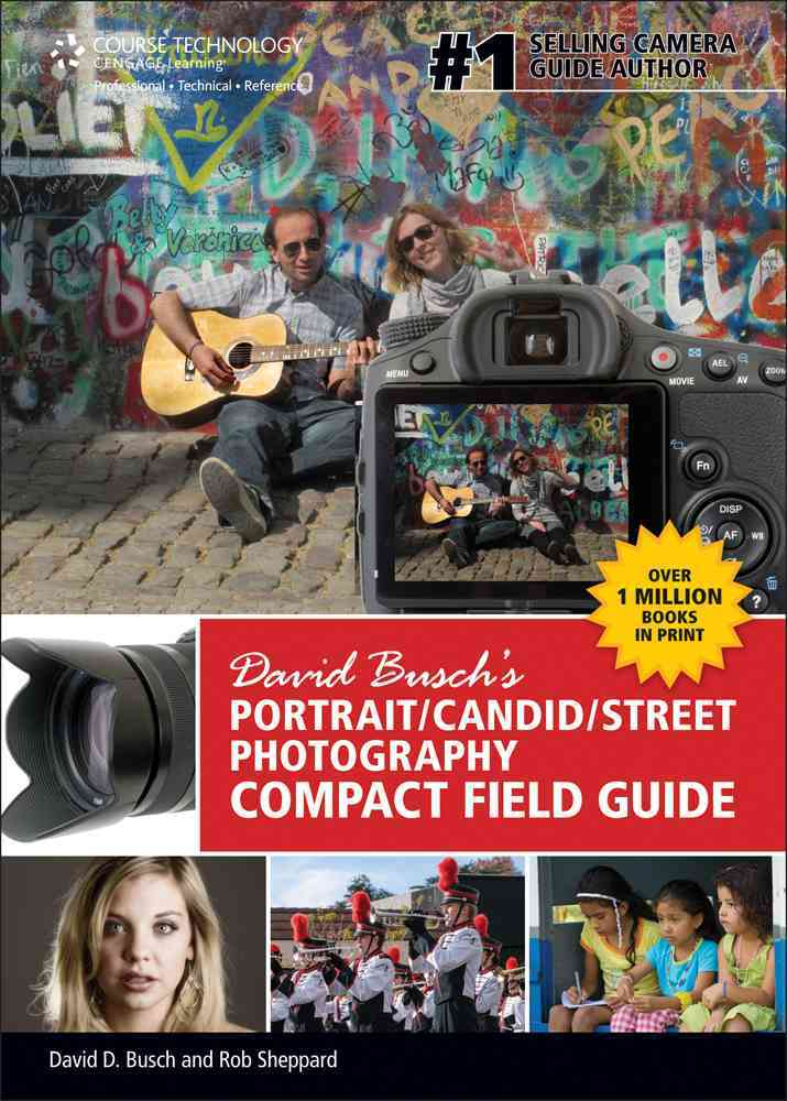 David Busch's Portrait/ Candid/ Street Photography: Compact Field Guide (Spiral bound)