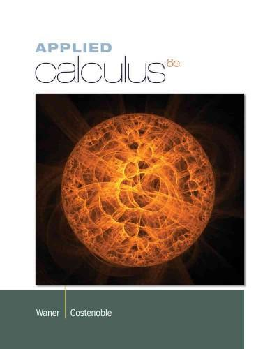Applied Calculus (Hardcover)