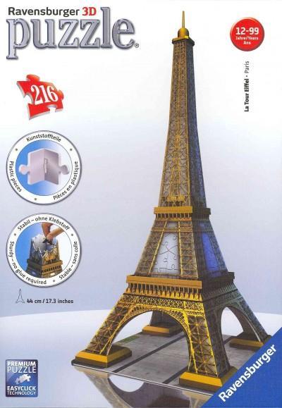 Eiffel Tower: 216 Piece 3d (General merchandise)