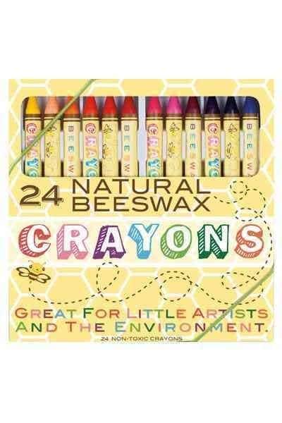 24 Natural Beeswax Crayons (General merchandise)
