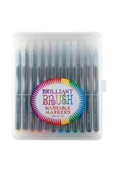 Brilliant Brush Markers - Set of 12 (General merchandise)