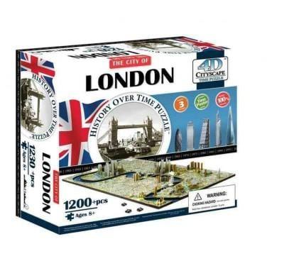 4d Cityscape London History Time: 1,230 Pieces (General merchandise)