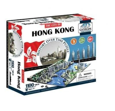 4d Cityscape Hong Kong History Time: 1,000 Pieces (General merchandise)