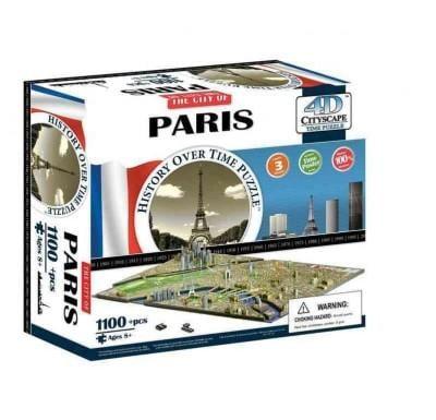 4d Cityscape Paris History Time: 1,100 Pieces (General merchandise)