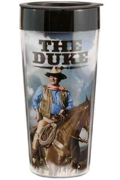 John Wayne 16 Oz. Plastic Travel Mug (General merchandise)