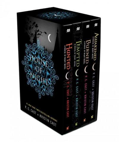 House of Night: Hunted, Tempted, Burned, Awakened (Paperback)