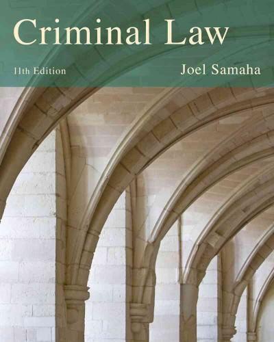 Criminal Law (Hardcover)