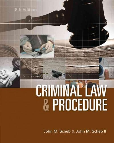 Criminal Law and Procedure (Hardcover)
