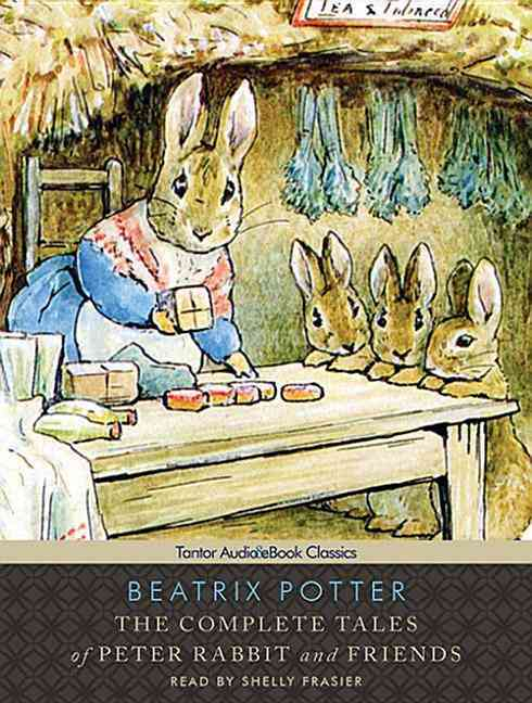 The Complete Tales of Peter Rabbit and Friends: Includes Ebook (CD-Audio)