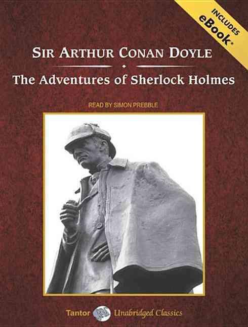 The Adventures of Sherlock Holmes: Includes Ebook (CD-Audio)