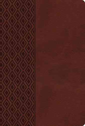 Holy Bible: New King James Version, Dark Brown, Leathersoft, Reference Editon (Paperback)