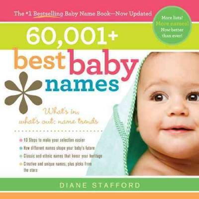 60,001+ Best Baby Names (Paperback)