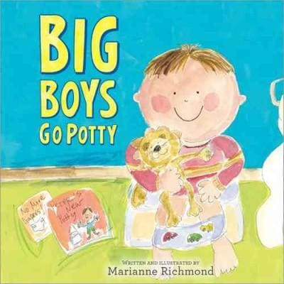 Big Boys Go Potty (Hardcover)