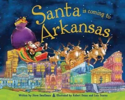 Santa Is Coming to Arkansas (Hardcover)