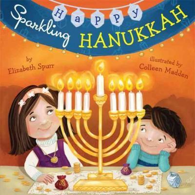Happy Sparkling Hanukkah (Board book)