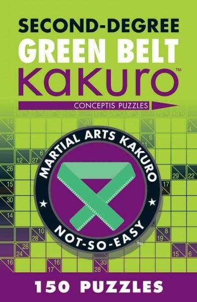 Second-Degree Green Belt Kakuro (Paperback)