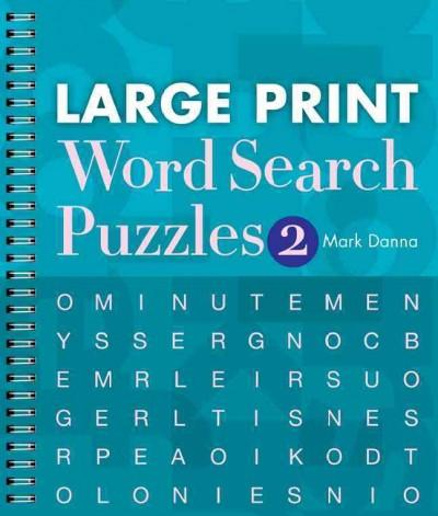 Large Print Word Search Puzzles 2 (Paperback)