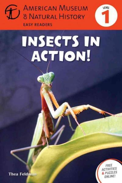 Insects in Action! (Hardcover)