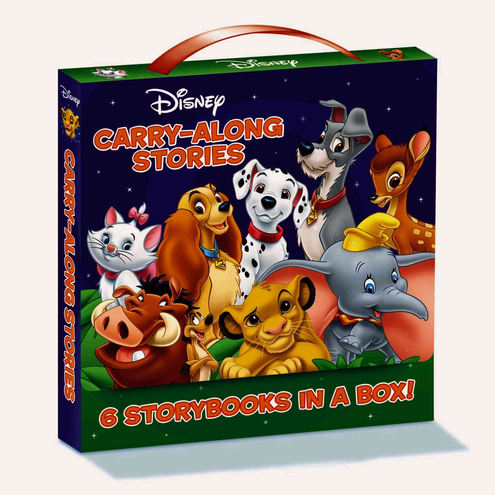 Disney Carry-Along Stories 6 Volume Boxed Set
