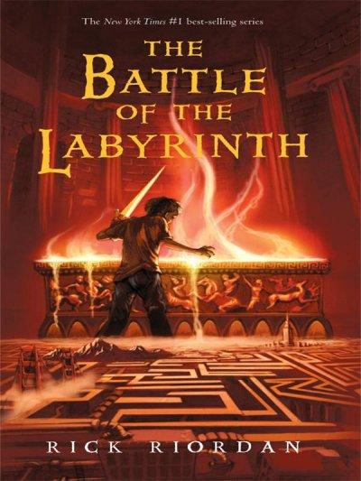 The Battle of the Labyrinth (Hardcover)