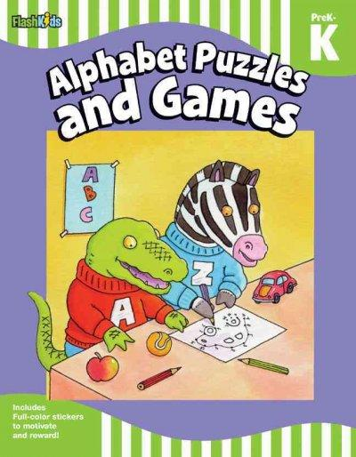 Alphabet Puzzles and Games, PreK-K (Paperback)