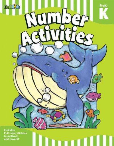 Number Activities PreK-K (Paperback)