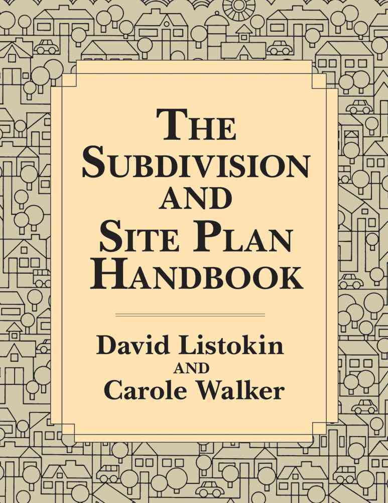 The Subdivision and Site Plan Handbook (Paperback)