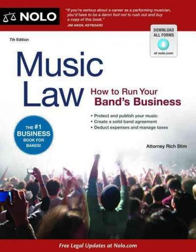 Music Law: How to Run Your Band's Business (Paperback) - Thumbnail 0