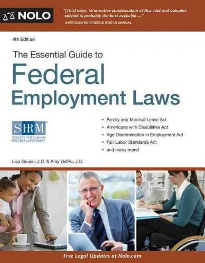 The Essential Guide to Federal Employment Laws + Website (Paperback)