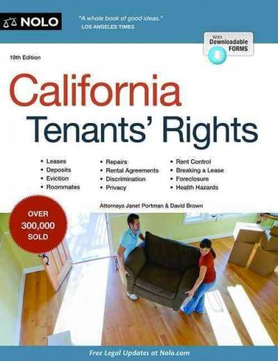 California Tenants' Rights + Online (Paperback)