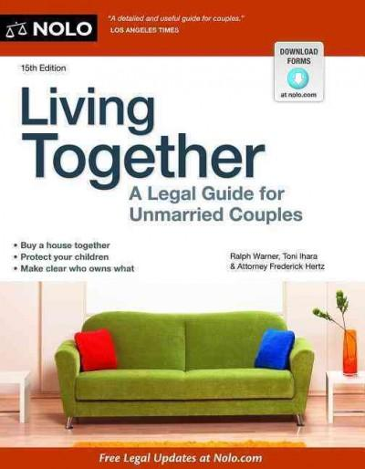 Living Together: A Legal Guide for Unmarried Couples (Paperback)