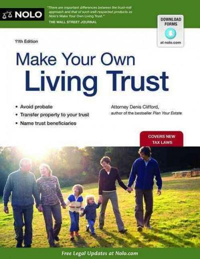 Make Your Own Living Trust (Paperback) - Thumbnail 0