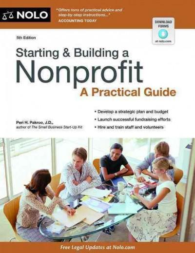 Starting & Building a Nonprofit: A Practical Guide (Paperback)