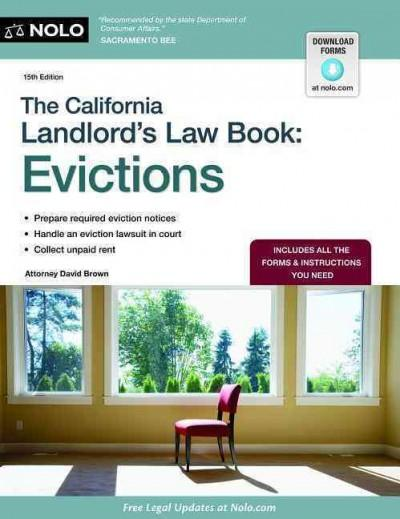 The California Landlord's Law Book: Evictions (Paperback)