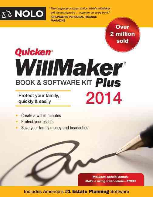 Quicken WillMaker Plus 2014 Edition