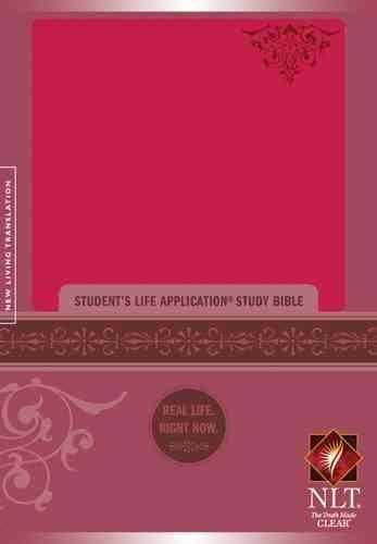 Student's Life Application Study Bible: New Living Translation Version, Personal Size Bible, Leatherlike, Pink (Paperback)