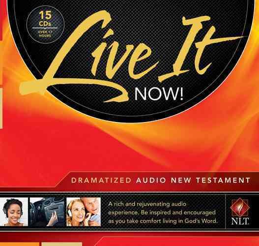 Live It Now! Dramatized Audio New Testament: New Living Translation (CD-Audio)
