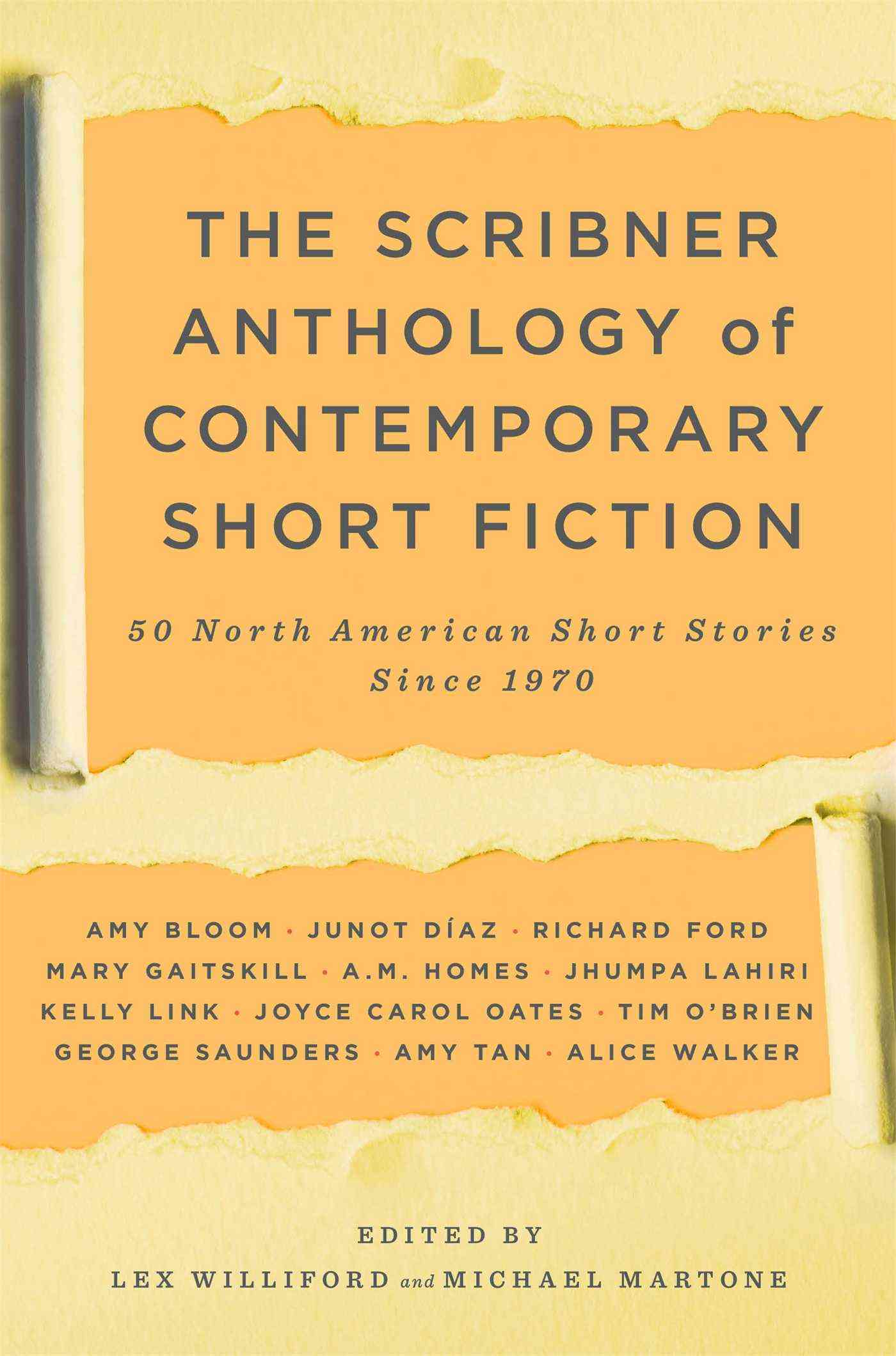 The Scribner Anthology of Contemporary Short Fiction: 50 North American Short Stories Since 1970 (Paperback)
