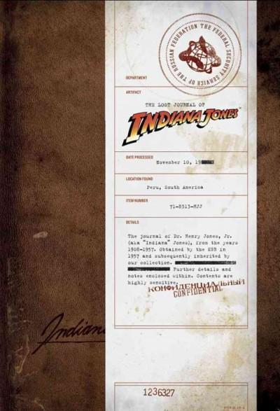 The Lost Journal of Indiana Jones (Hardcover)