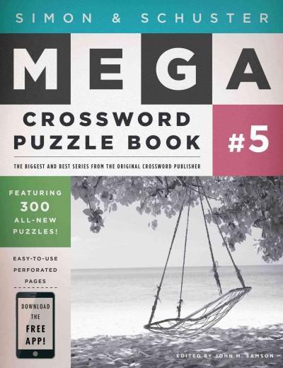 Simon & Schuster Mega Crossword Puzzle Book 5 (Paperback)