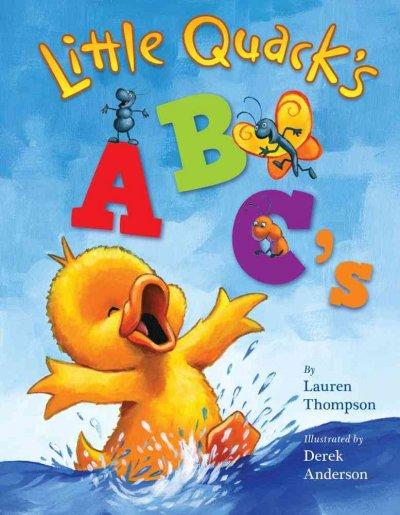Little Quack's ABC's (Board book) - Thumbnail 0