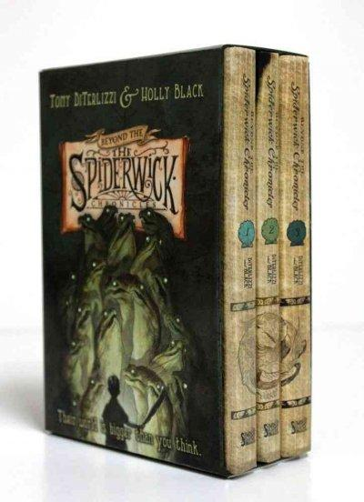 Beyond the Spiderwick Chronicles: The Nixies Song/ A Giant Problem/ The Wyrm King (Hardcover)
