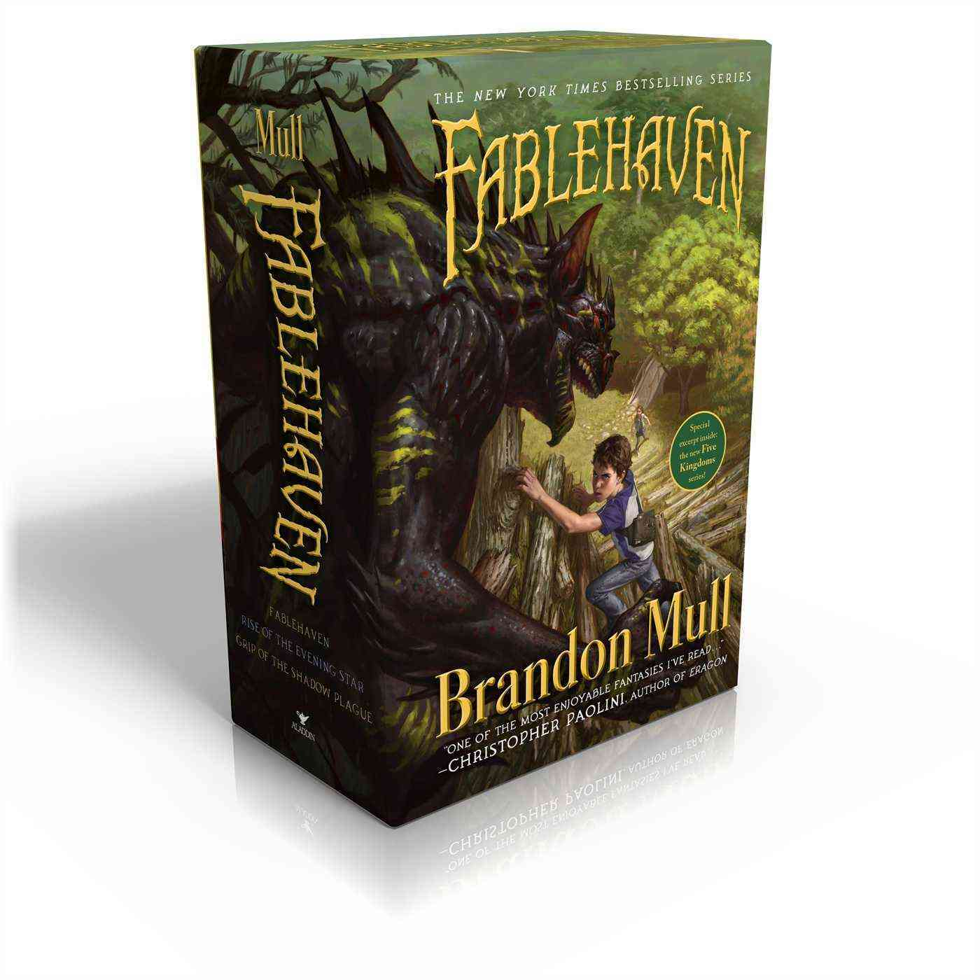 Fablehaven Books 1-3: Fablehaven; Rise of the Evening Star; Grip of the Shadow Plague (Paperback)