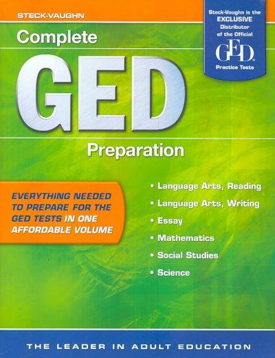 Complete Ged Preparation (Paperback)