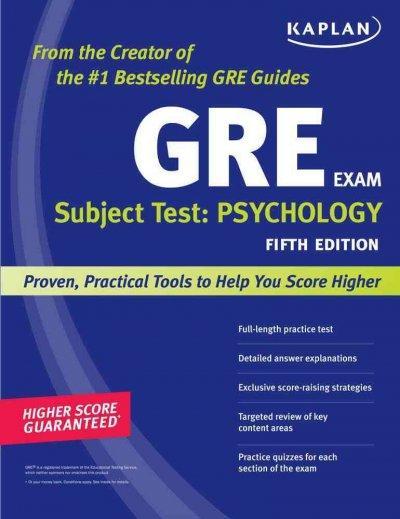 Kaplan GRE Subject Test: Psychology (Paperback)