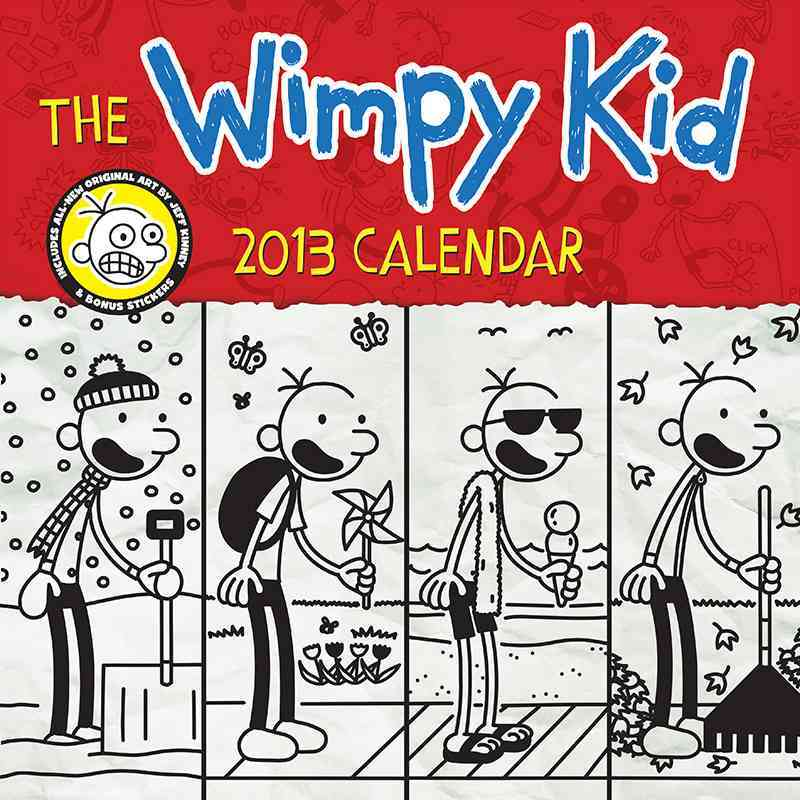 The Wimpy Kid Calendar 2013